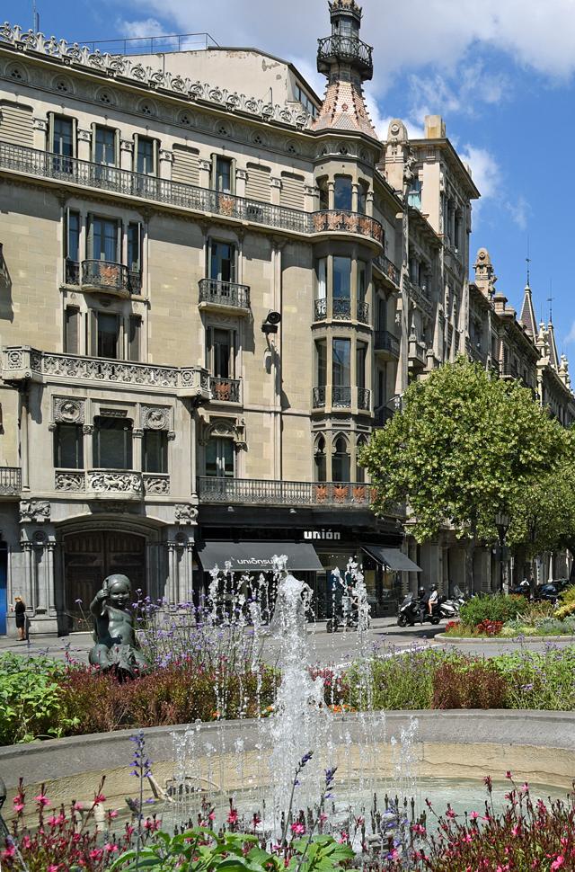 Carte Eixample Barcelone.Eixample Dret Barcelona Shopping Line