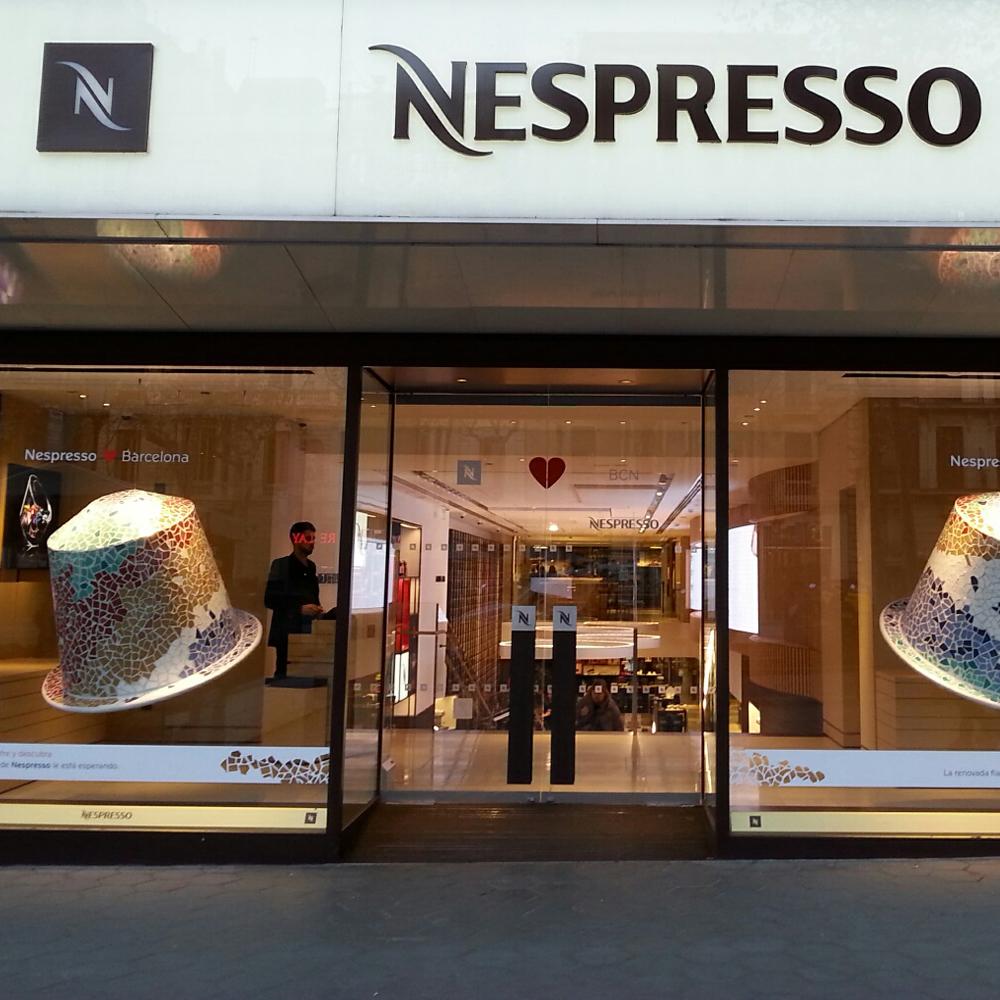 Nespresso Flagship | Barcelona Shopping Line