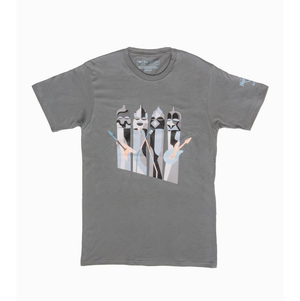 Camisetas ganadoras del concurso ArtRock | Barcelona Shopping Line