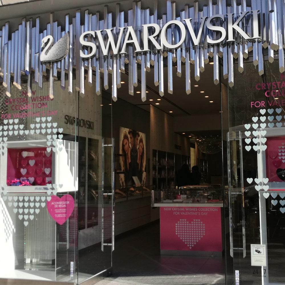 Swarovski en Barcelona | Barcelona Shopping Line