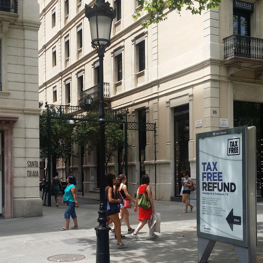 Tax Free al centre de Barcelona | Barcelona Shopping Line