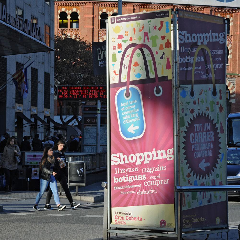 Creu Coberta – XII Mostra del Comerç | Barcelona Shopping Line