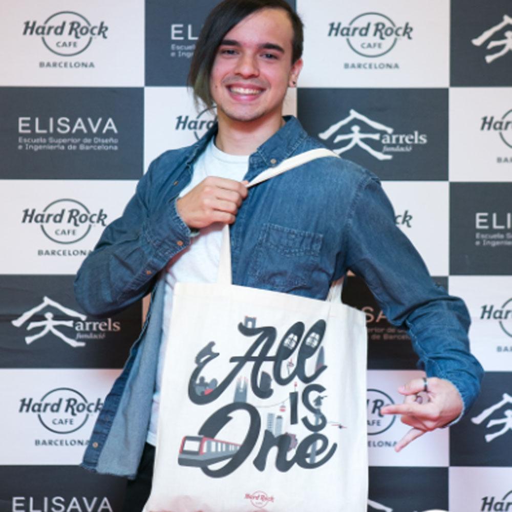 Hard Rock Cafe Barcelona apuesta por los jóvenes diseñadores de Barcelona | Barcelona Shopping City