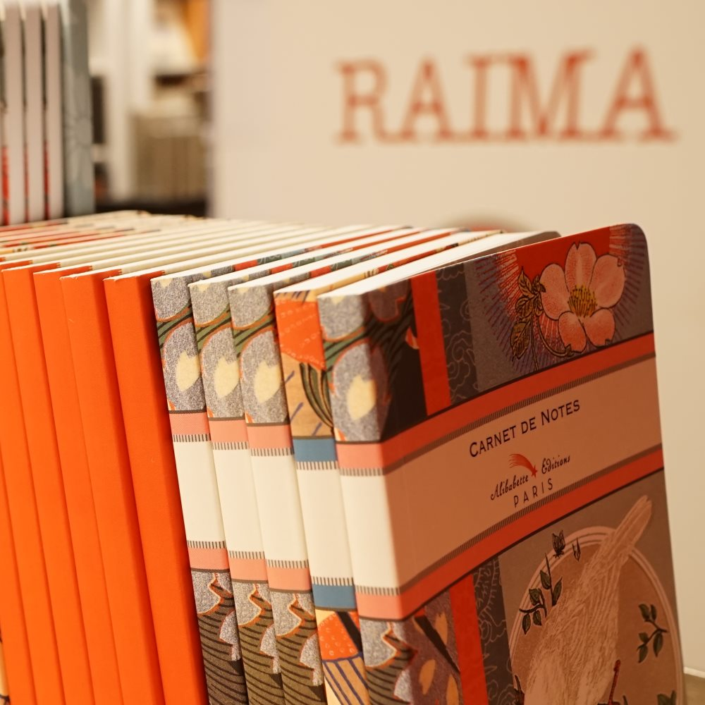 RAIMA paper, art and solidarity | Barcelona Shopping Line