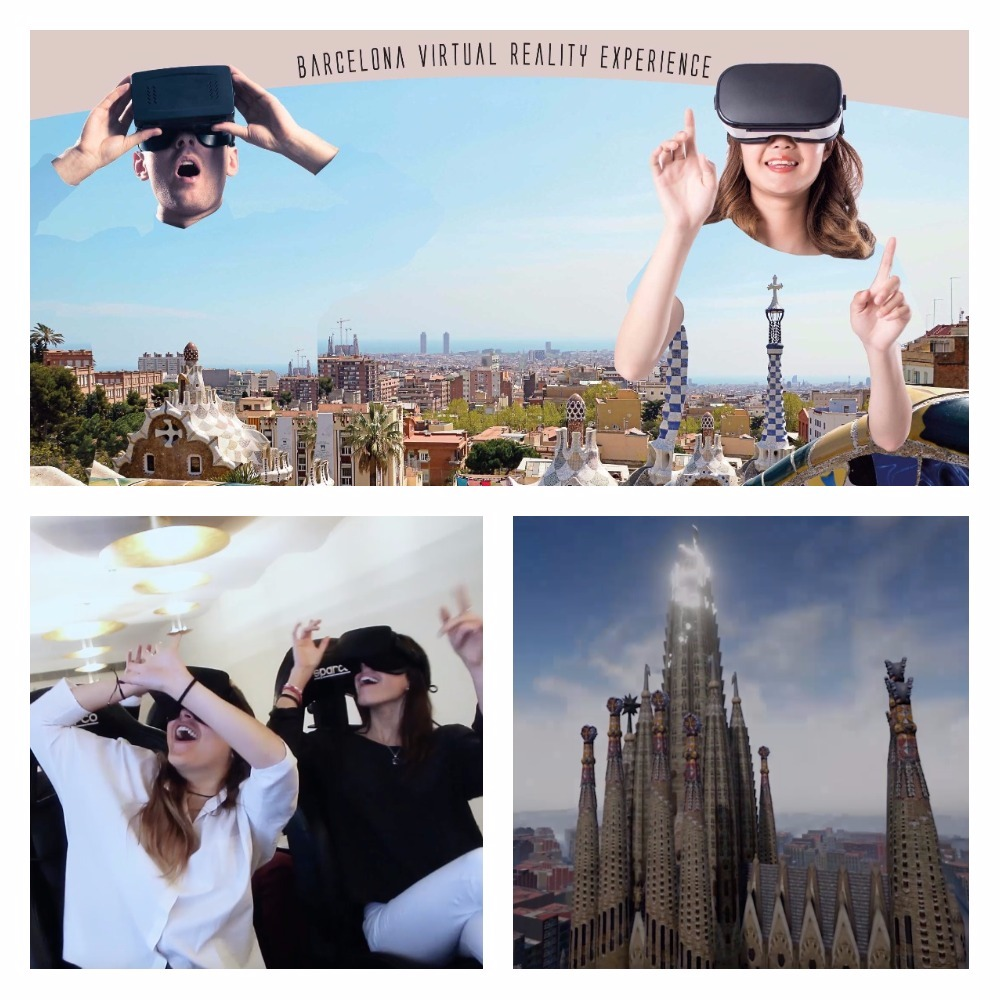 New virtual reality attraction at the Palau Moja | Barcelona Shopping City