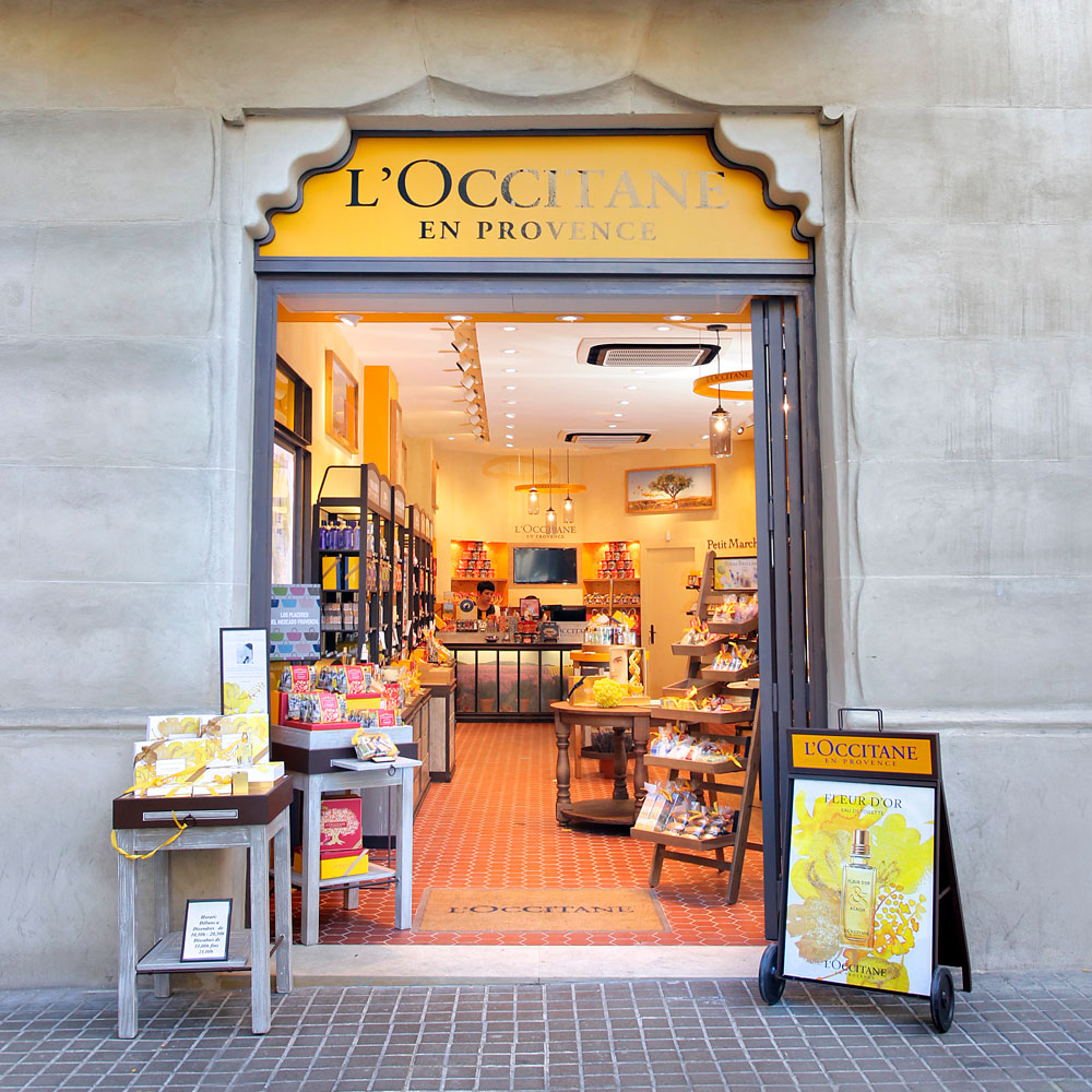 L'Occitane in Barcelona | Barcelona Shopping Line