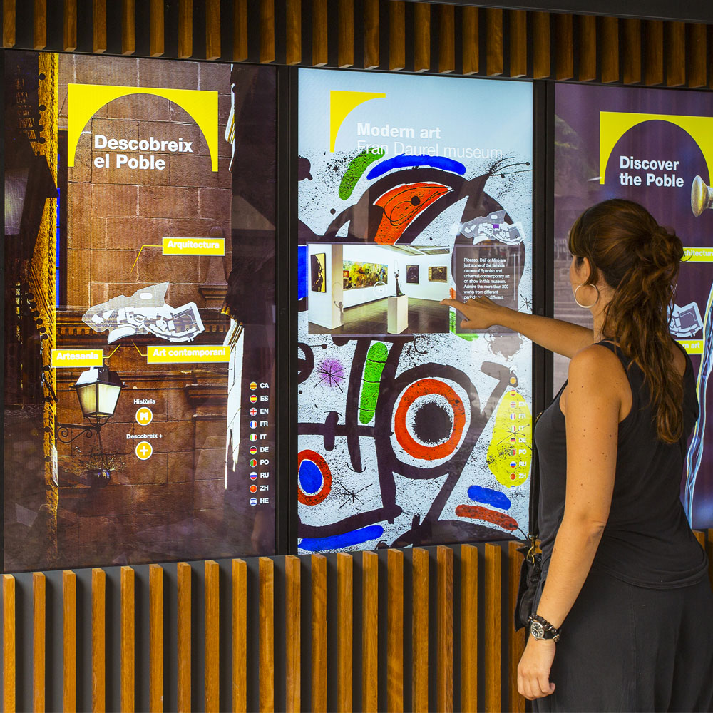 New interactive, multimedia spaces at the Poble Espanyol | Barcelona Shopping City