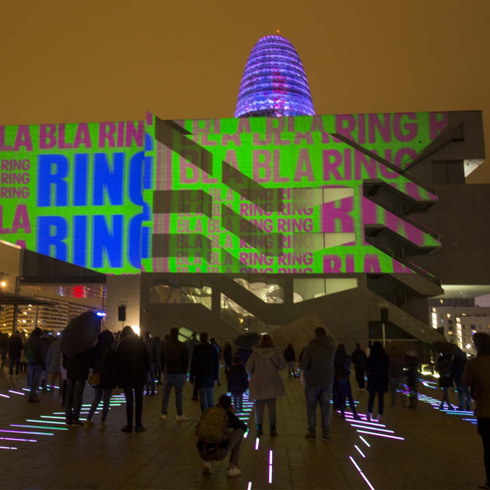 LLUM BCN,  the urban festival of light in Poblenou | Barcelona Shopping City