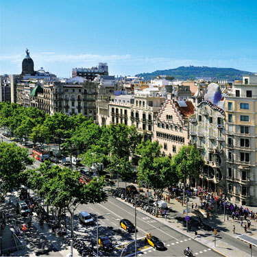 Associació Passeig de Gràcia | Barcelona Shopping Line | Tienda