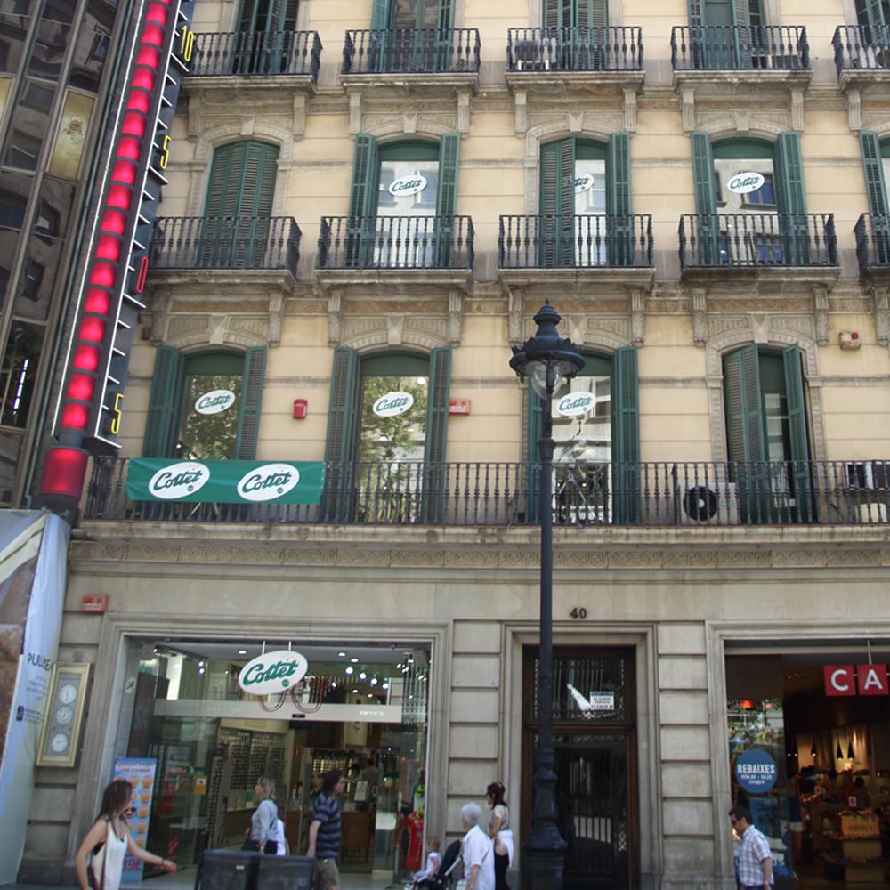 Cottet Óptica & Audiologia | Barcelona Shopping Line | Ópticas