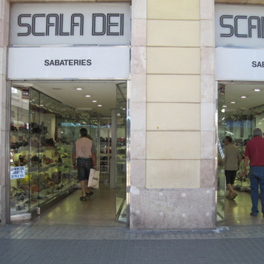 Scala Dei | Barcelona Shopping Line | Zapaterías