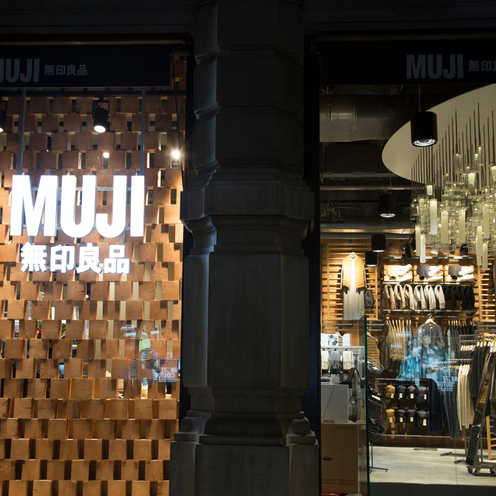 Muji | Barcelona Shopping Line | Moda