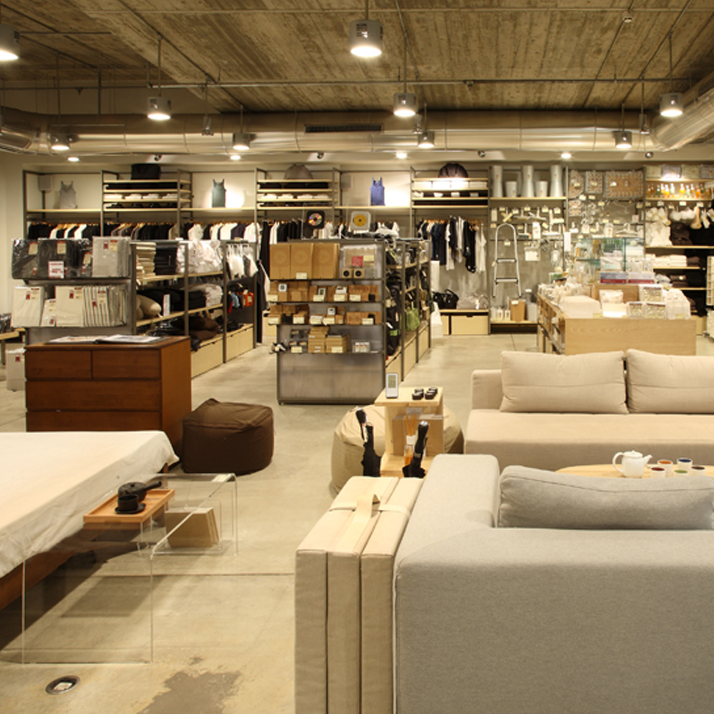 muji barcelona shopping line fashion