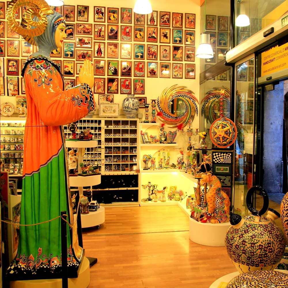 Art Escudellers | Barcelona Shopping Line | Artesanía y regalos