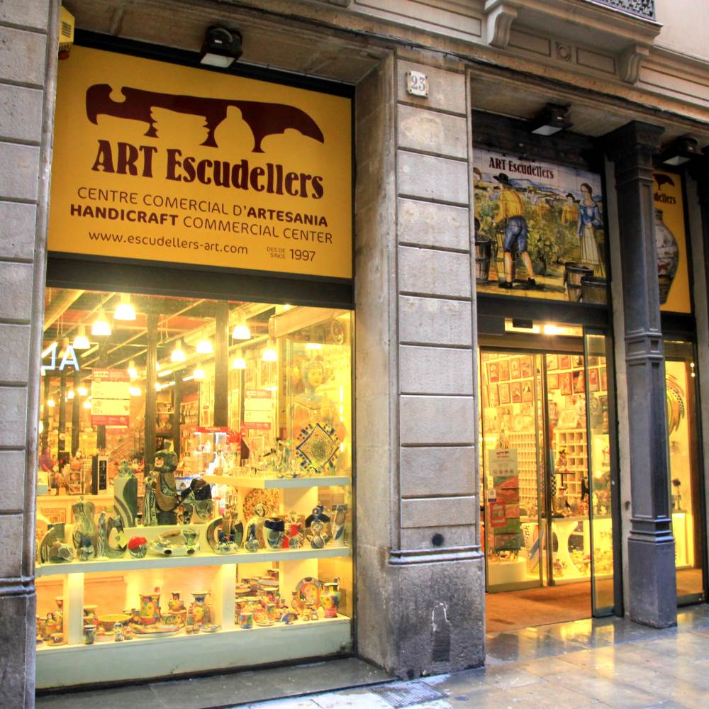 Art Escudellers | Barcelona Shopping City | Artesanía y regalos