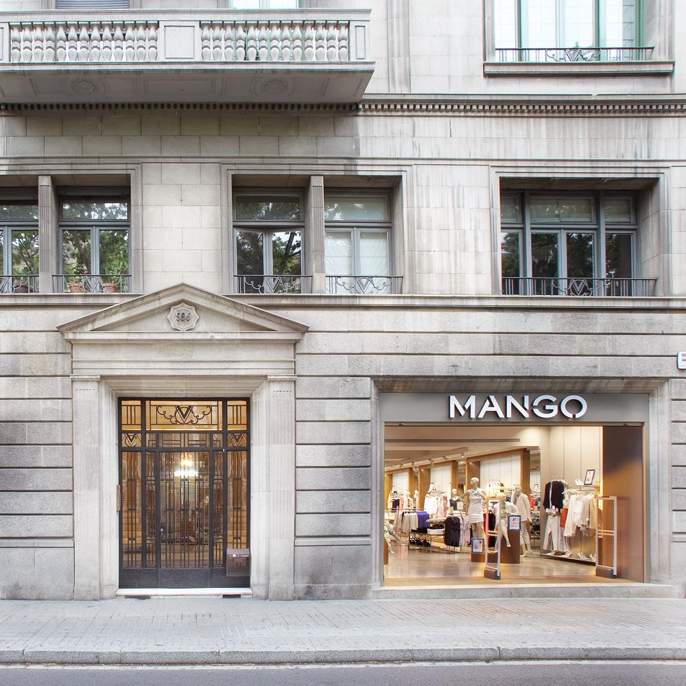 Mango   Barcelona Shopping Line   Moda