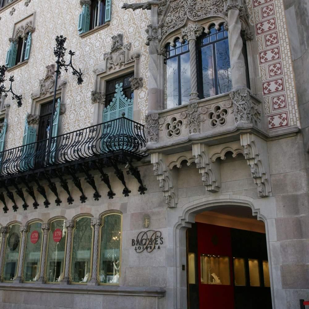 Bagués - Masriera Joiers | Barcelona Shopping Line | Joyerías