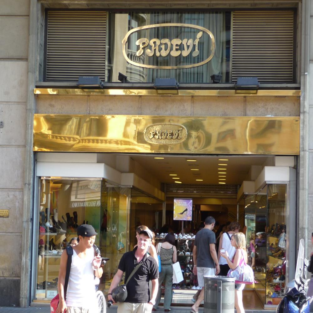 Calçats Padeví | Barcelona Shopping City | Zapaterías