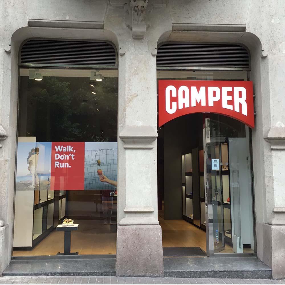 Camper | Barcelona Shopping City | Zapaterías
