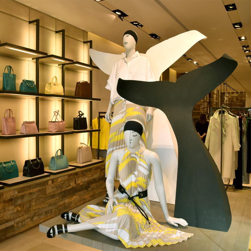 Max Mara   Barcelona Shopping Line   Moda