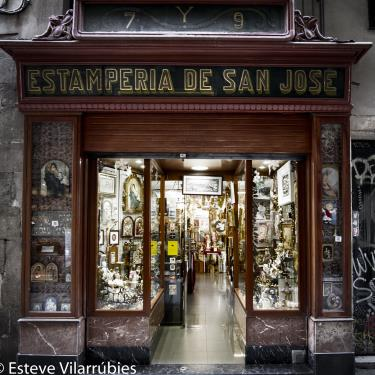 Estamperia San José | Barcelona Shopping Line | Antiguitats