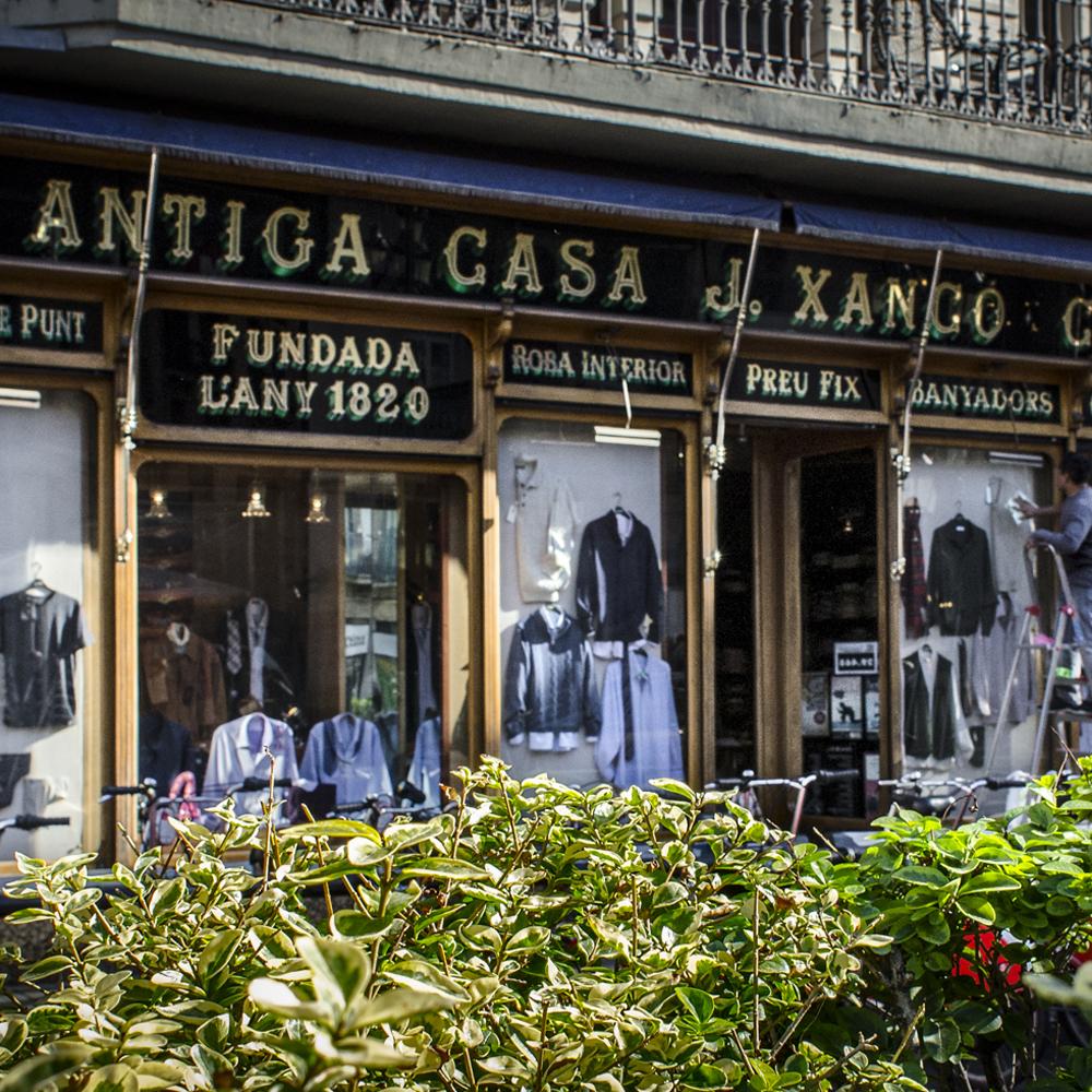 Camiseria Xancó   Barcelona Shopping City   Emblemáticas y centenarias