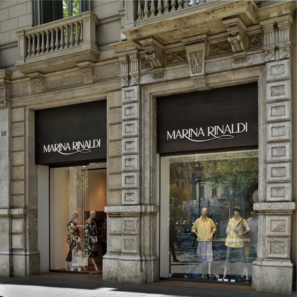 Marina Rinaldi | Barcelona Shopping Line | Moda