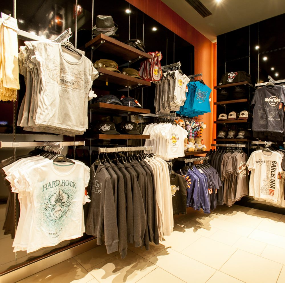 Hard Rock Cafe Barcelona Rock Shop | Barcelona Shopping City | Complementos, Moda y Diseñadores