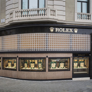 Tous Rolex Boutique | Barcelona Shopping City | Exclusive luxury shopping