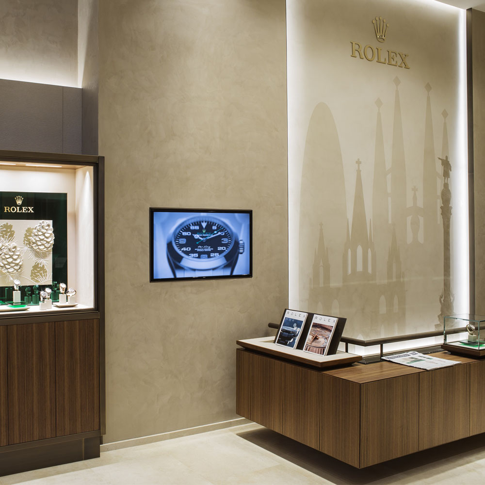 Tous Rolex Boutique | Barcelona Shopping City | Joyerías