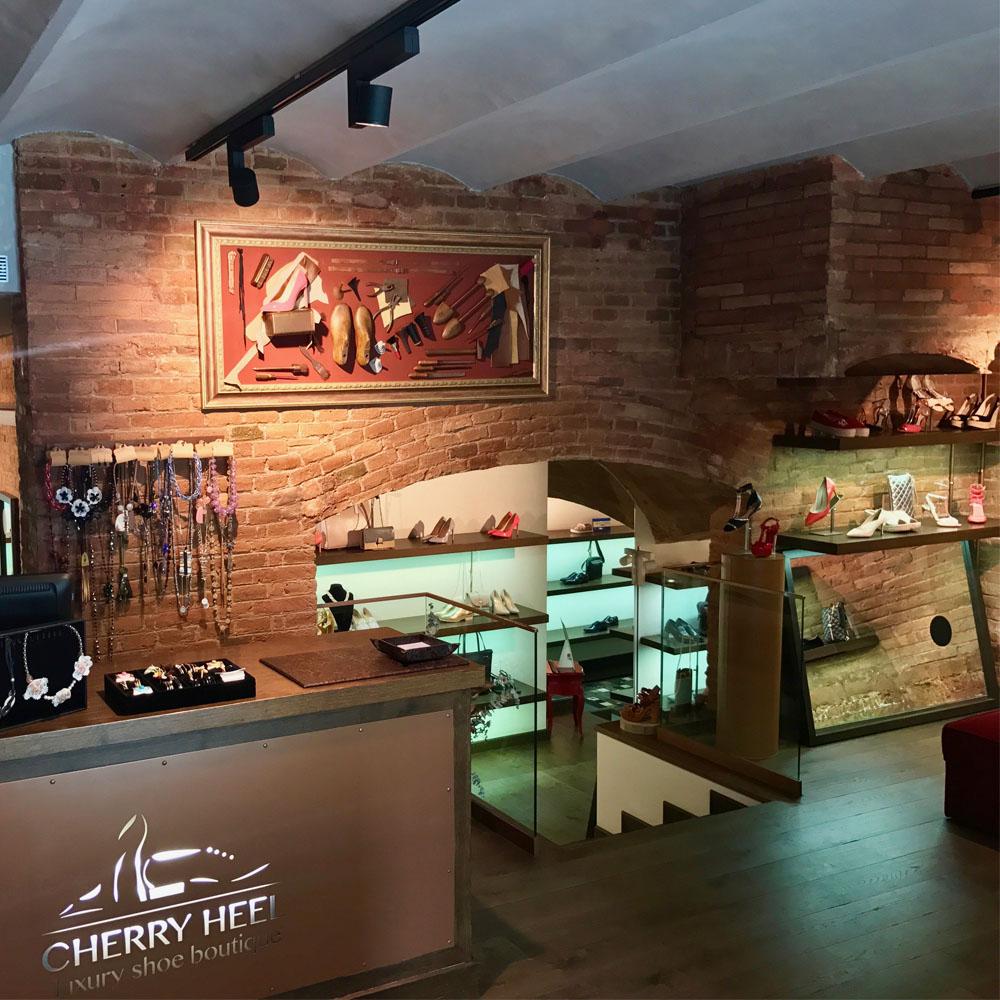 Cherry Heel | Barcelona Shopping City | Zapaterías