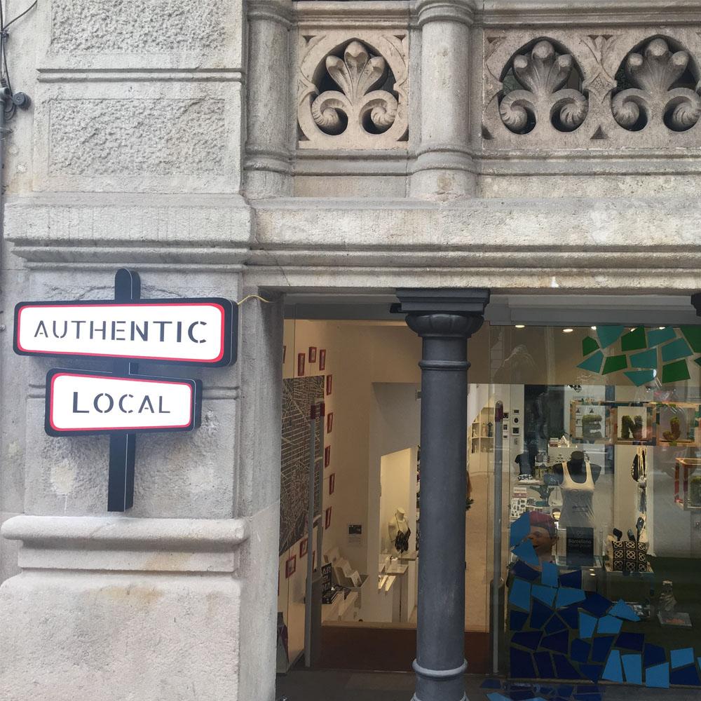 Authentic Local | Barcelona Shopping Line | Artesanía y regalos