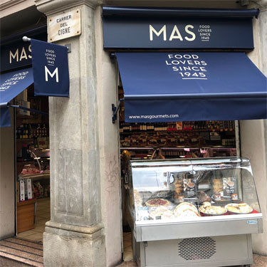 Mas Gourmets | Barcelona Shopping City | 美味食品