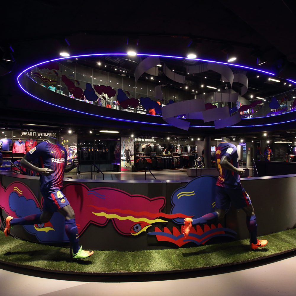 Fc Barcelona Official Store | Barcelona Shopping City | Tiendas de Museos