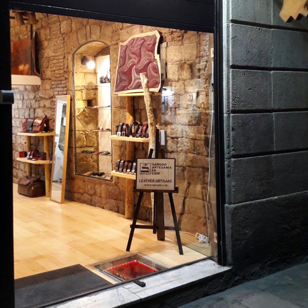 Sañudo Artesania En Cuir | Barcelona Shopping City | Artesanía y regalos