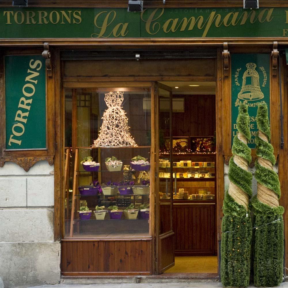 Turrones la Campana | Barcelona Shopping City | Emblemáticas y centenarias, Gourmet y colmados