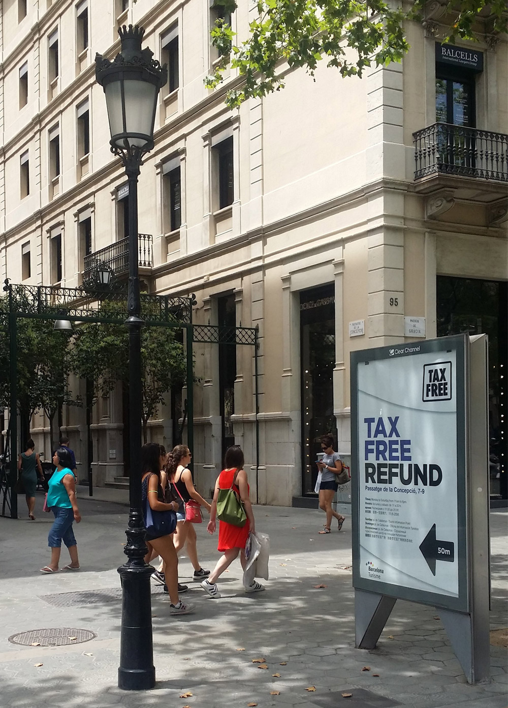 Tax free | Barcelona Shopping City