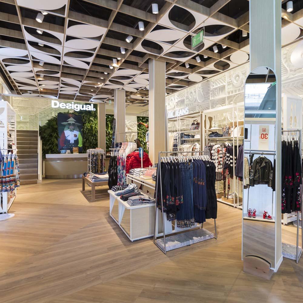 Desigual reopens its flagship store on Passeig de Gràcia   Barcelona Shopping City