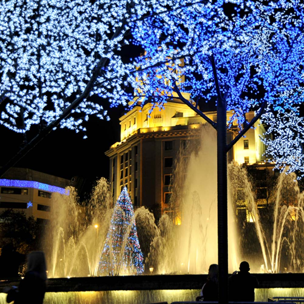 Christmas lights switch-on in Barcelona | Barcelona Shopping City