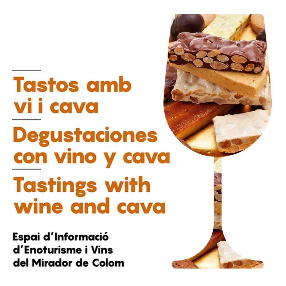 Tastings with wine and cava at the Mirador de Colom (Columbus Monument) | Barcelona Shopping City