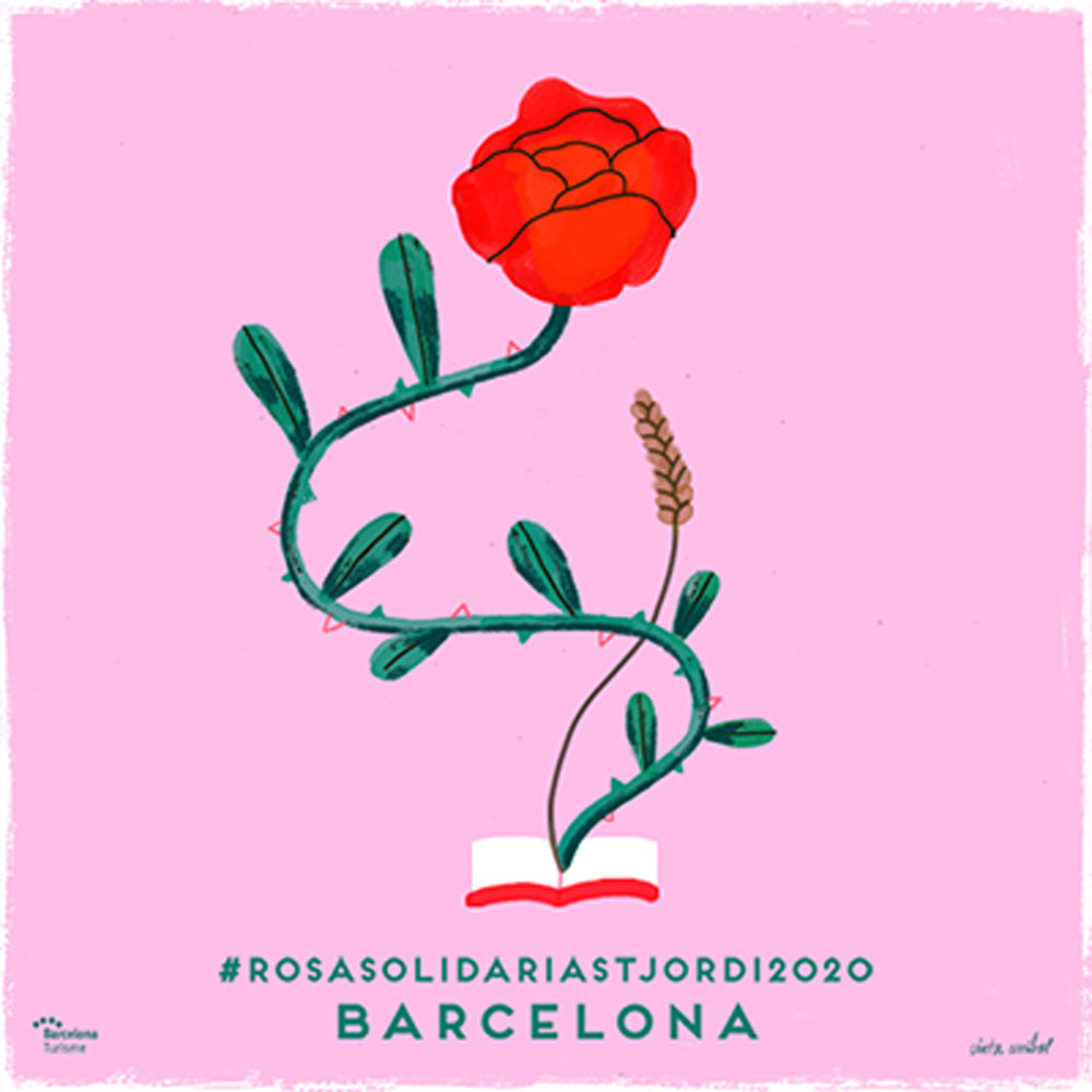 Sant Jordi 2020 Solidarity Rose | Barcelona Shopping City