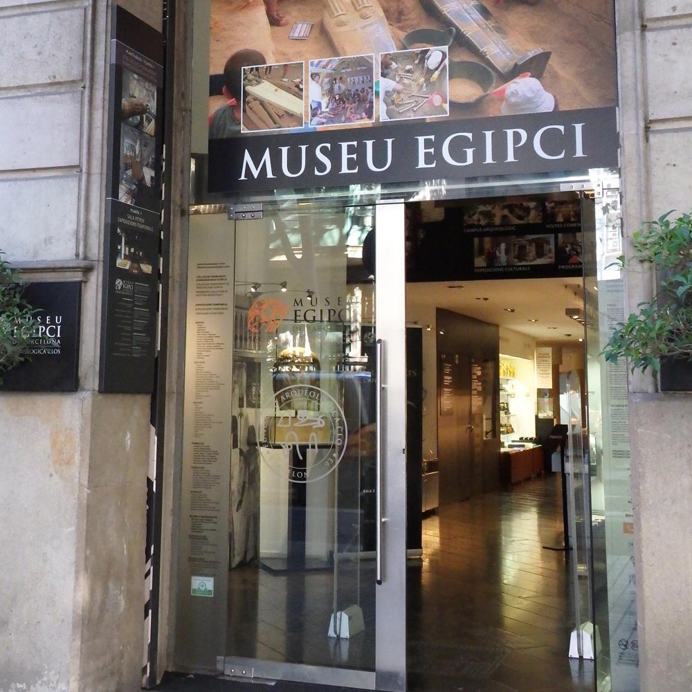 Museu Egipci de Barcelona | Barcelona Shopping City | Negozi di Musei