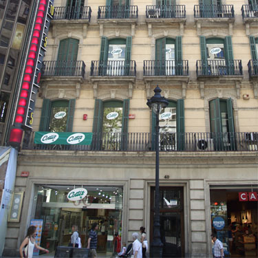 Cottet Òptica i Audiologia | Barcelona Shopping City | Century-old shops