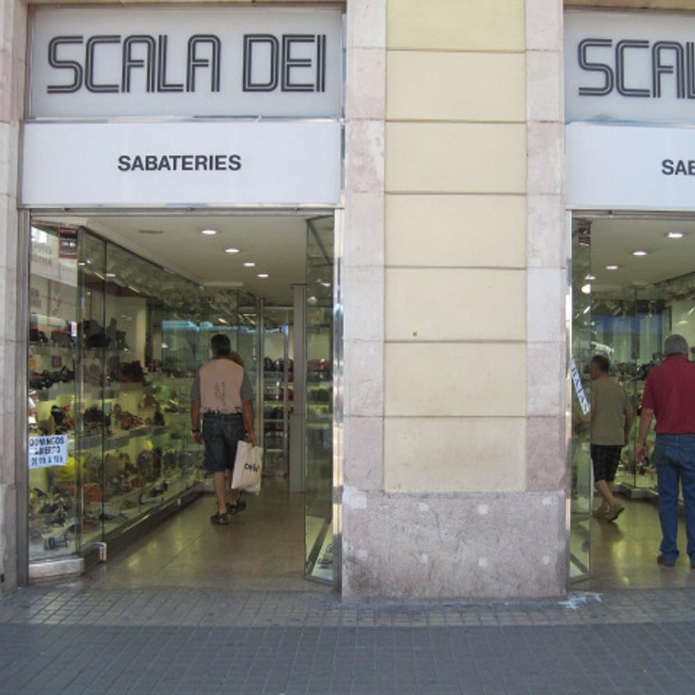 Scala Dei | Barcelona Shopping City | Zapaterías