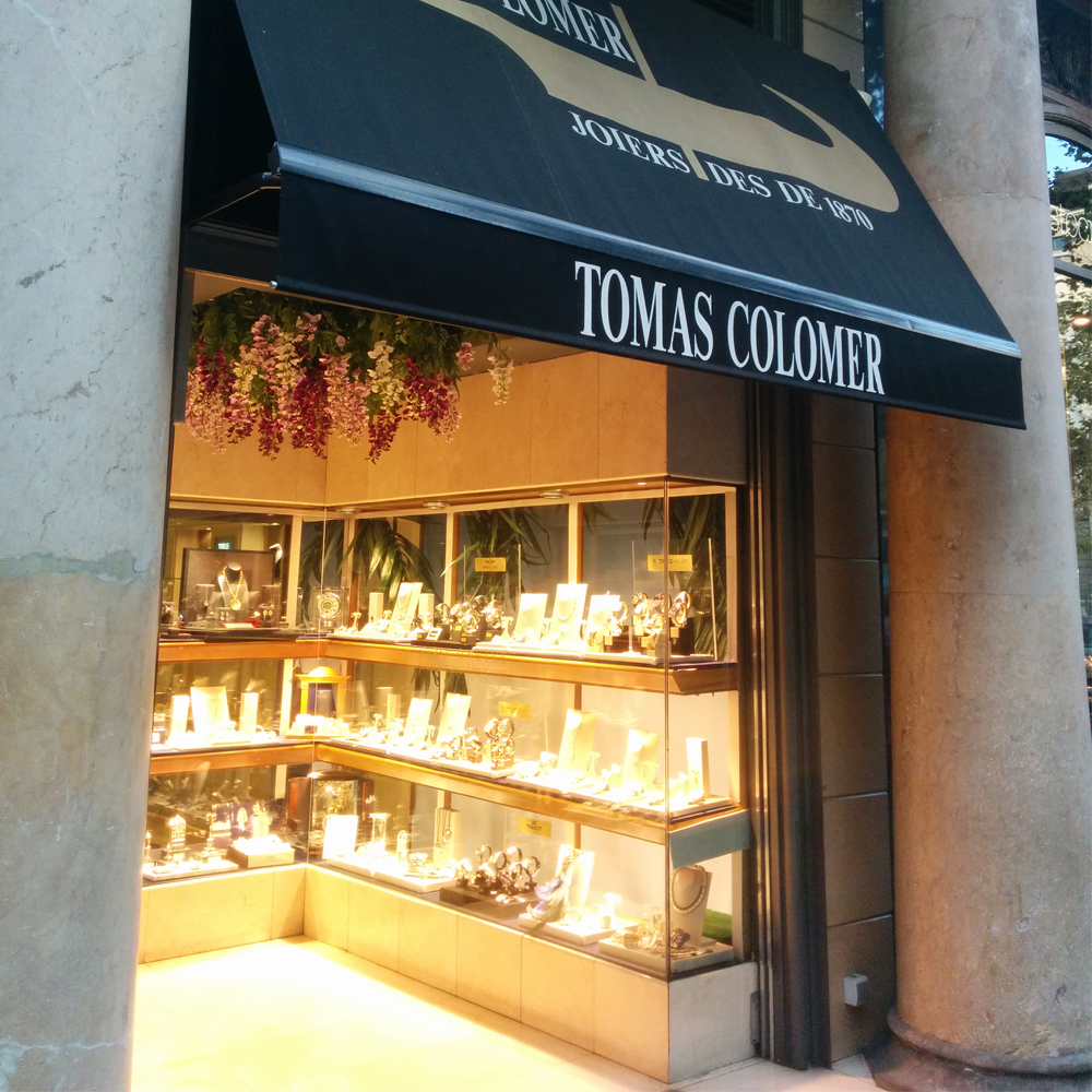 Tomas Colomer | Barcelona Shopping City | Bijouteries