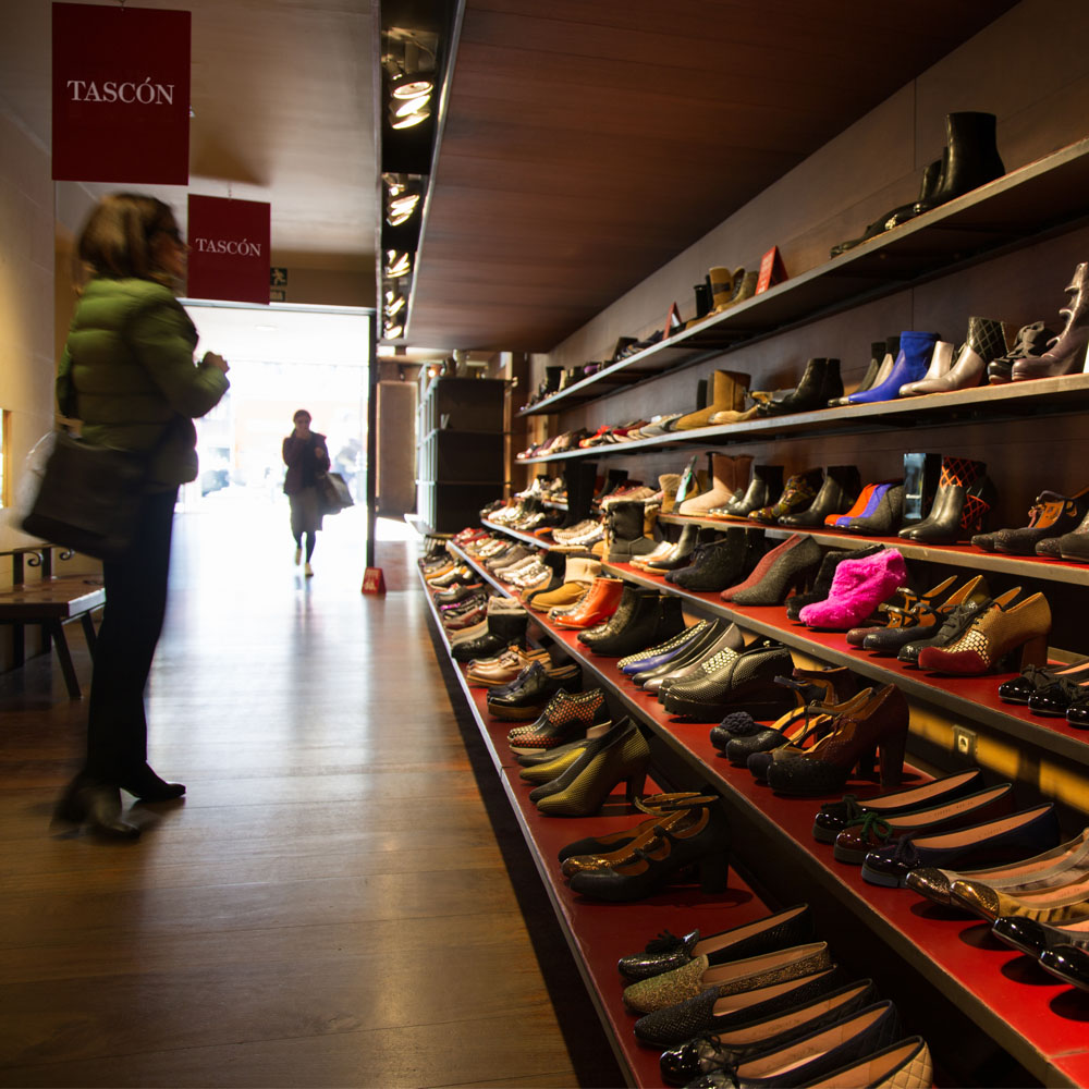 Tascón | Barcelona Shopping City | Zapaterías