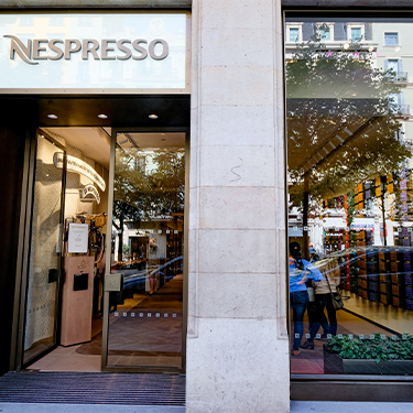 Nespresso | Barcelona Shopping City | Gourmet
