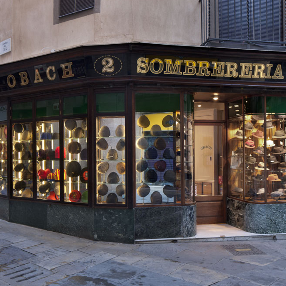 Sombrerería Obach | Barcelona Shopping City | Accessories, Century-old Shops