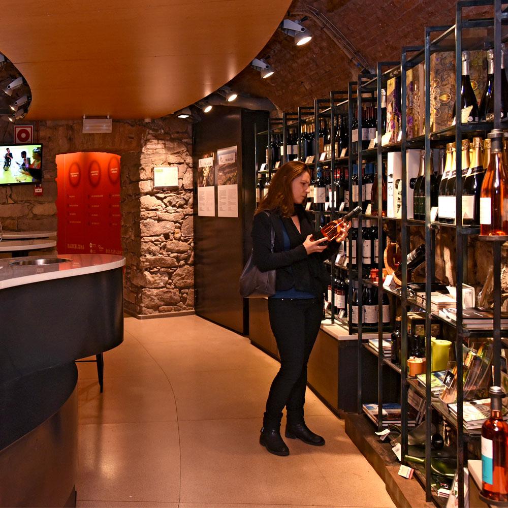 Espai D'enoturisme del Mirador de Colom | Barcelona Shopping City | Gourmet e generi alimentari