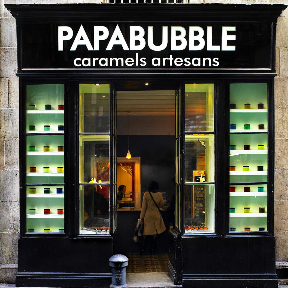 Papabubble | Barcelona Shopping City | Gourmet e generi alimentari